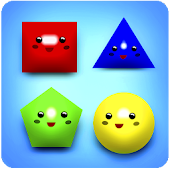 Baby Shapes 2-5 for Kids - Learn geometric forms