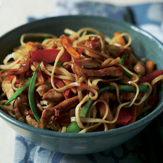 Stir-fried Pork With Noodles