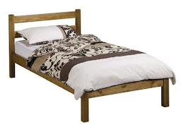 Solid superior handcrafted (UK Manufactured) Pine traditional Bedstead (shown in Oak)