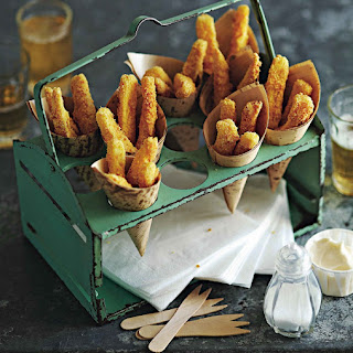 Polenta And Parmesan Parsnip Fries Recipes