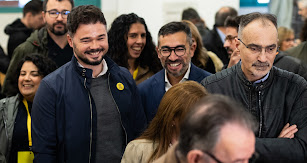 El candidato de ERC a las elecciones generales, Gabriel Rufián.