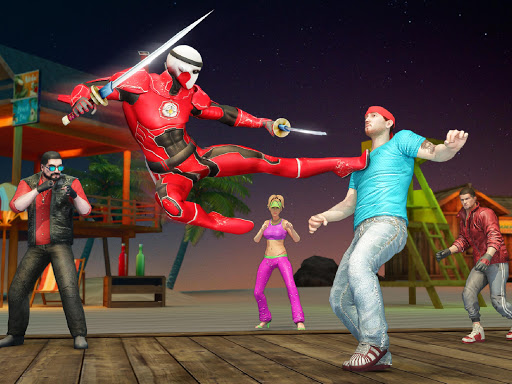 Ninja Superhero Fighting Games: City Kung Fu Fight 5.9 screenshots 11