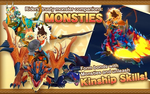 Monster Hunter Stories MOD Apk (Weak Enemy/One Hit) 3