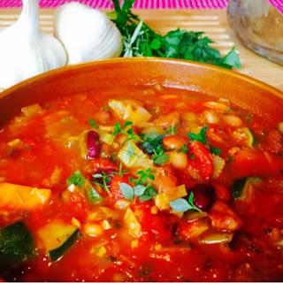 Rustic Tuscan Bean Soup Recipe