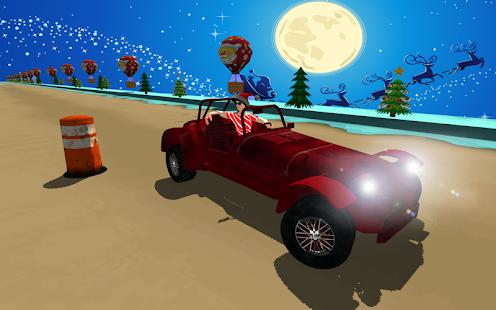 Christmas Car Stunt Racing – Santa Traffic Rider - náhled