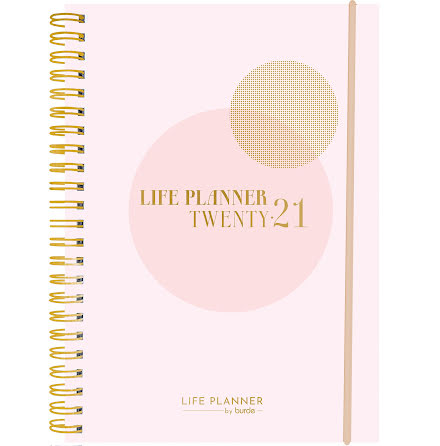 Life Planner Pink A6