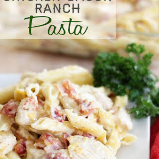 Chicken Bacon Ranch Pasta.