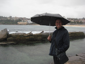 Photo: Day 2 in Sydney. It rained... a lot. But we decided to brave the rain and do the Coogee to Bondi Coastal walk anyway.