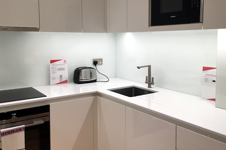 Fully equipped kitchen at Warren Street Deluxe
