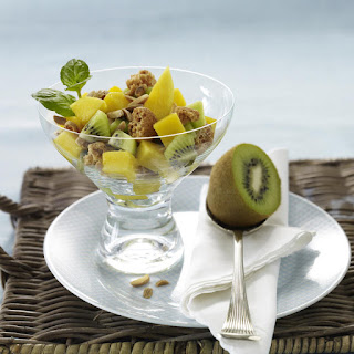 Tropical Fruit Cup with Almonds