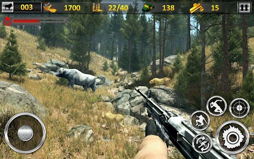Jungle Wild Animal Hunting:FPS Shooting Games - náhled