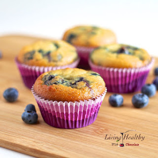 Blueberry Muffin (Gluten Free, Nut Free, Dairy Free, Low Carb).