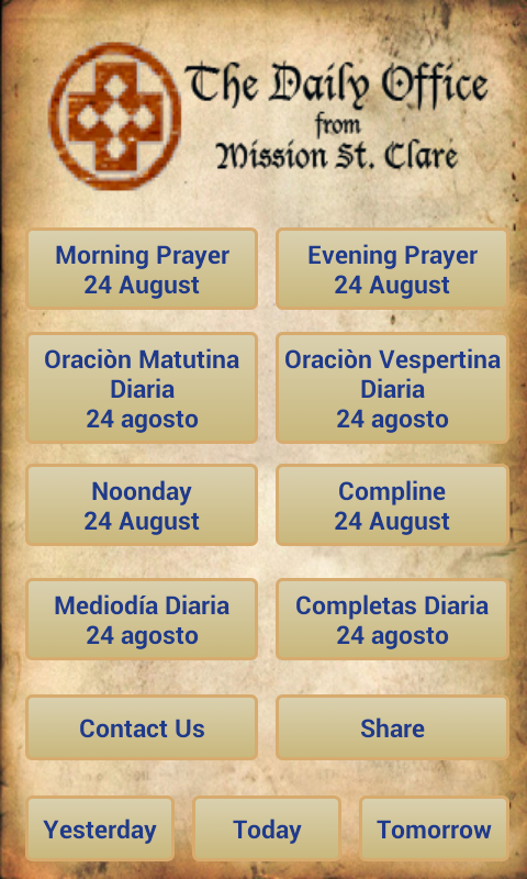 Daily Prayer- screenshot