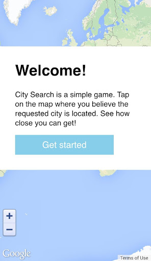 City Search—A Geography Quiz