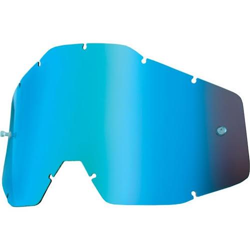 100% Replacement Anti-Fog Lens, Mirror Blue