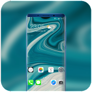 Theme for IOS - Phone XS abstract simple fluid icon