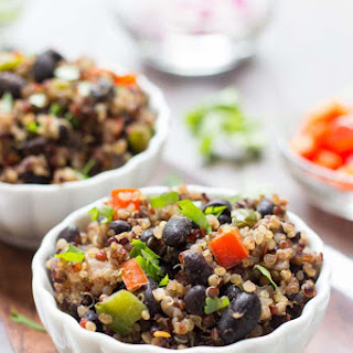 Gallo Pinto with Quinoa
