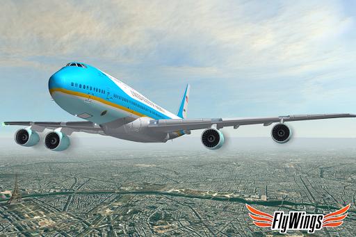 Flight Simulator 2015 Flywings - Paris and France apkpoly screenshots 4