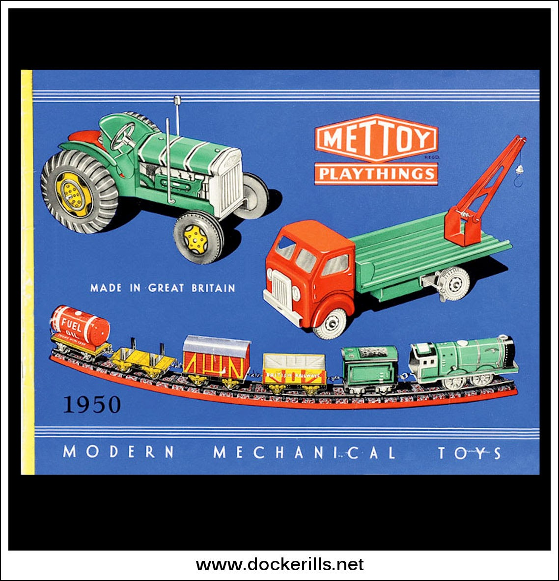 Photo: Mettoy Catalogue 1950 - Front Cover.  Visit my blog - Collecting Tin Toys at  http://tinplatetoys.blogspot.co.uk/