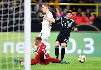 """Matchwinnaar Alario: """"Spelers Duitsland hebben grote carrière voor zich"""""""