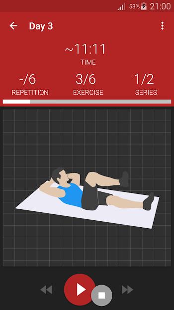 Abs workout PRO- screenshot