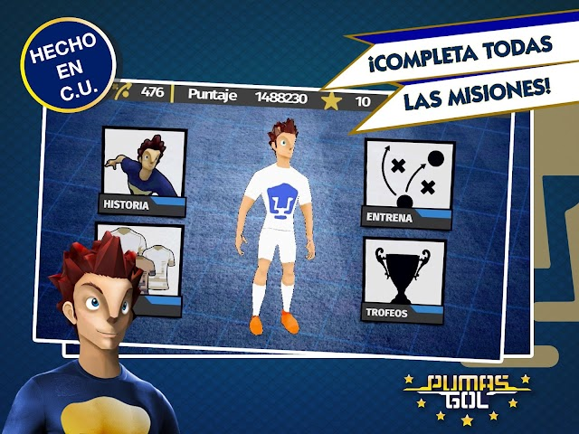android Pumas Gol Screenshot 2