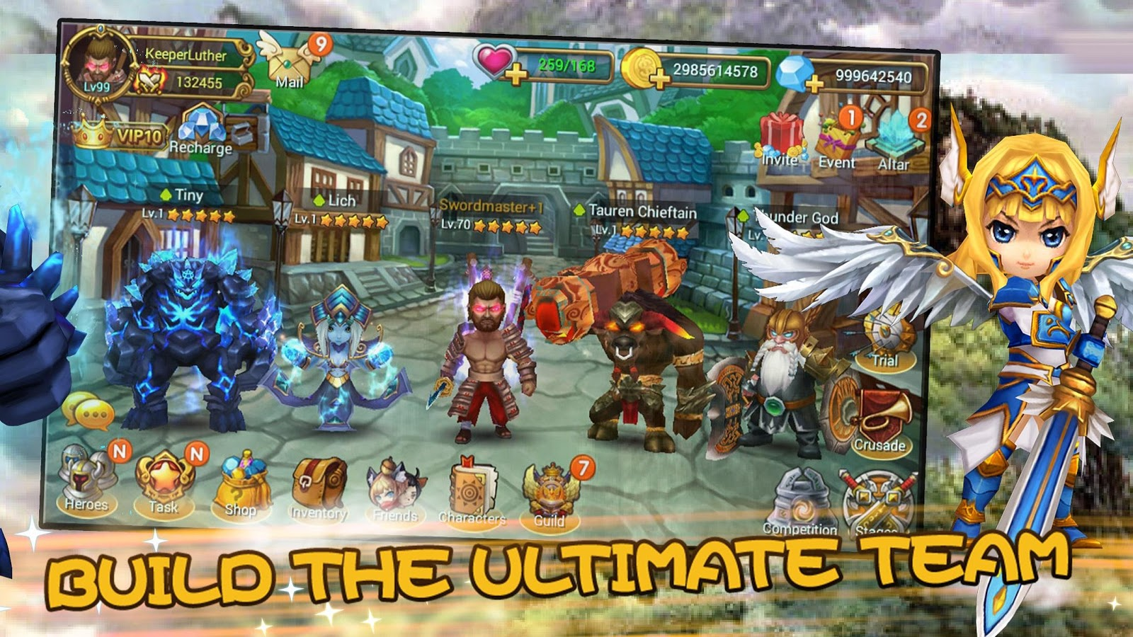 Mighty Warriors: Rise of East- screenshot