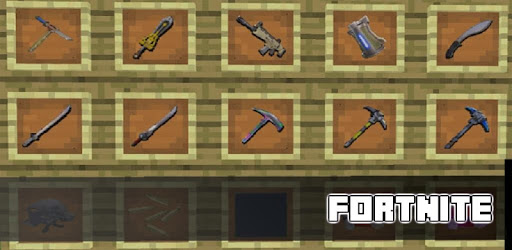 MOD Fortnite for MCPE for PC