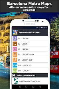 Barcelona Metro Maps - náhled