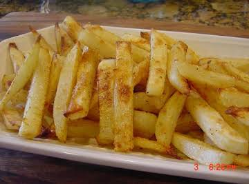 BONNIE'S BEST OVEN BAKED FRIES AND POTATO WEDGES