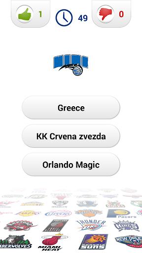 Logo Basketball Quiz Screenshot