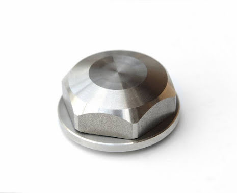 BMW Center Top Nut - Closed - Stainless Steel