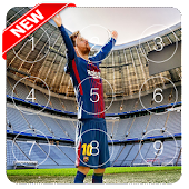 Lionel Messi lock screen with HD photos 2018