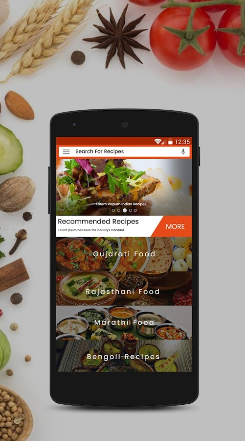 Indian recipes free cookbook android apps on google play indian recipes free cookbook screenshot forumfinder Image collections