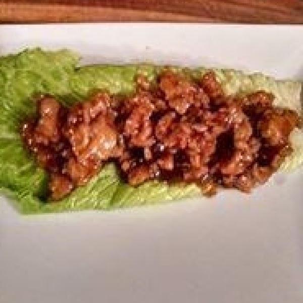 Asian Chicken Wraps Recipe