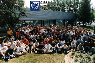 Photo: All the Summer Intern at CERN in 1998. Can you find me?