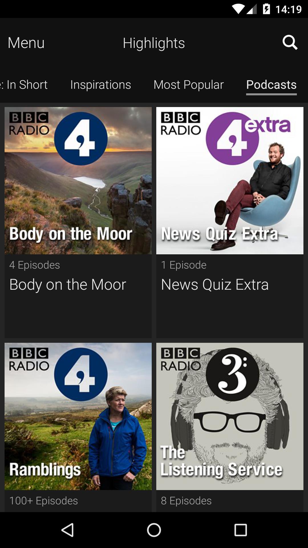 BBC iPlayer Radio screenshot #5