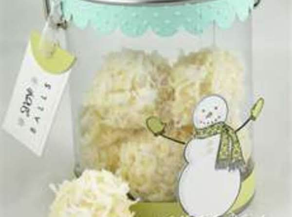 Let It Snow! Snowball Cookies