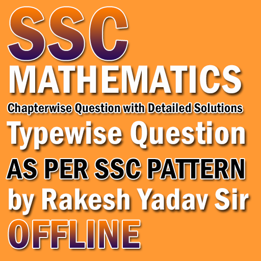 SSC Mathematics Chapter Wise Solved Paper In Hindi Android APK Download Free By SAMRUDHI COMPUTERS