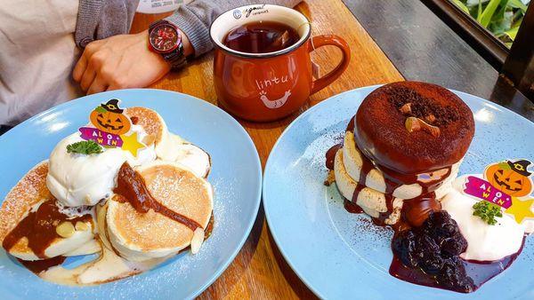 入口鬆餅|下午茶推薦。幽靜巷弄內的創意厚鬆餅