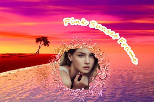 Pink Sunset Frame