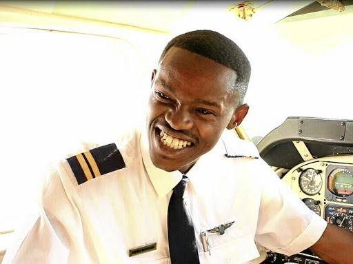 Sipho Mangesi knew from when he was a child in rural Eastern Cape that one day he would fly high as a pilot./Supplied