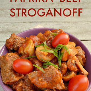 Beef Stroganoff With Paprika Recipes