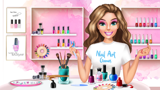 3D Nail Art Games for Girls 3.0 Screenshots 1