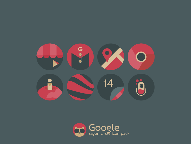 Sagon Circle Icon Pack Screenshot 6