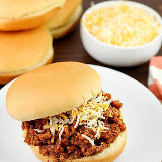 Easy Crock Pot Sloppy Joes.