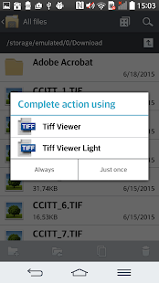 TIFF and FAX viewer - lite - screenshot thumbnail