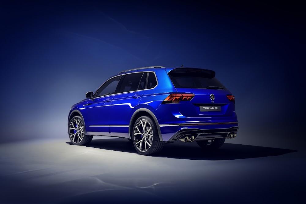 Volkswagen unleashes its fiery new 235kW Tiguan R