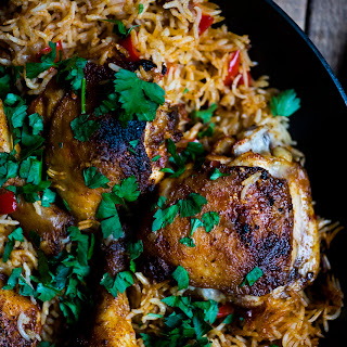 One Pot Chicken and Rice with Chorizo Recipe