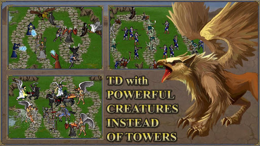 TDMM Heroes 3 TD:Medieval ages Tower Defence games  screenshots 2
